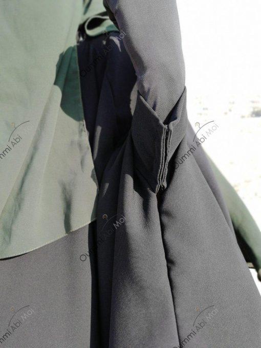 Abaya Bint.a by Oummi Abi Moi Noir Manches