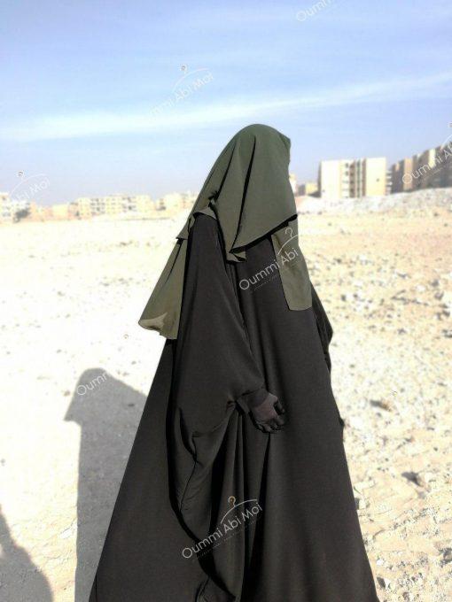 Abaya Bint.a by Oummi Abi Moi Noir profil