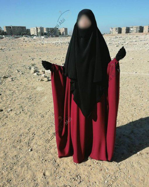 Abaya Bint.a by Oummi Abi Moi Pourpre