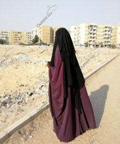 Niqab Classique 1m50 Arriere