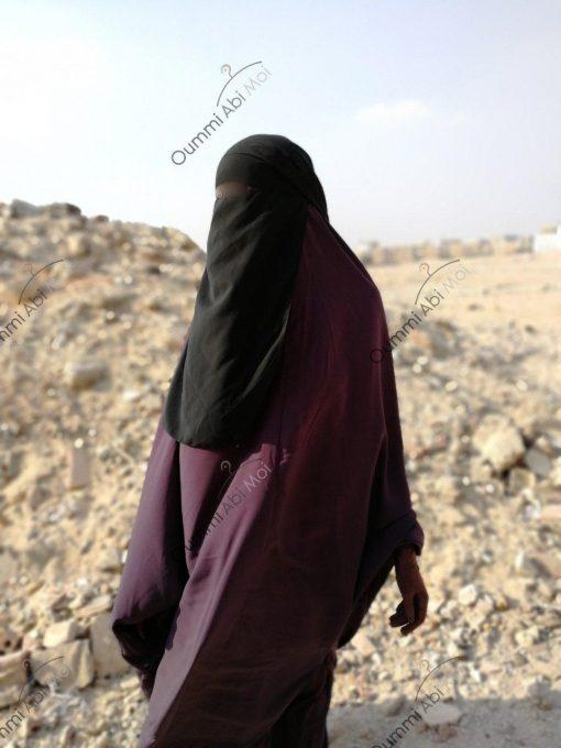 Niqab Classique 1m50 Avant
