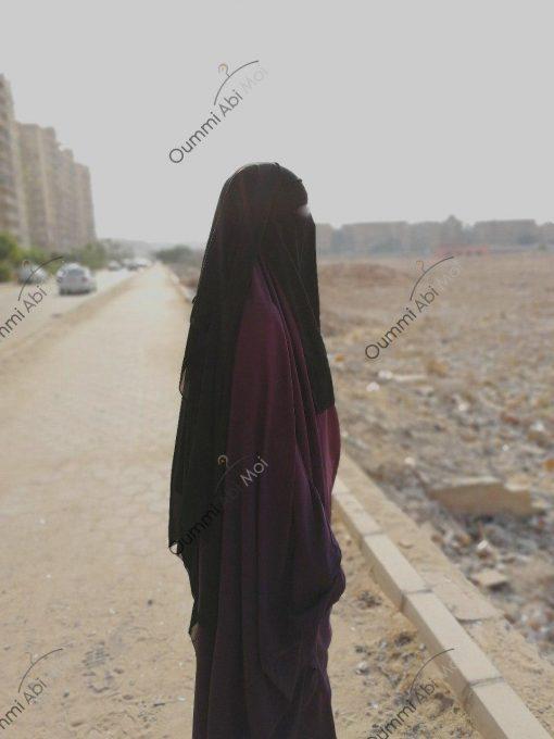 Niqab Classique 1m50 Profil