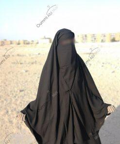 Cape yéménite à clips 1m30 avec sitar intégré face