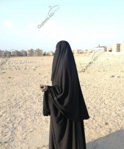 Cape yéménite à clips 1m30 avec sitar intégré profil