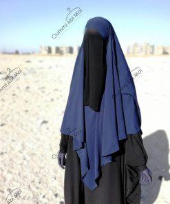half niqab noir