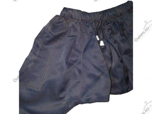 Sarouel Enfant Bleu Jeans Profil