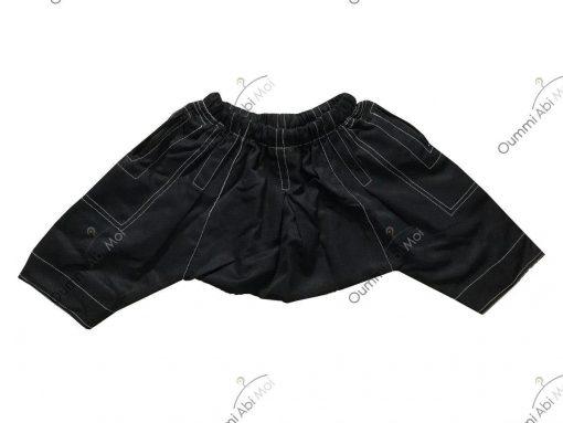 Sarouel Enfant Noir Dos