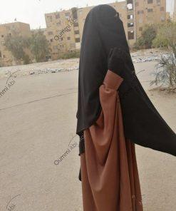 Abaya Bint.A Whool Peach Camnelle Profil