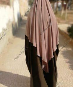 Abaya Saoudienne Bint.a Caviary Prenium Kaki