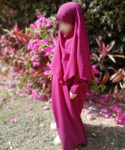 Khimar Mini Bint.a Prune