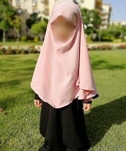 Khimar Mini Bint.a Rose Bonbon